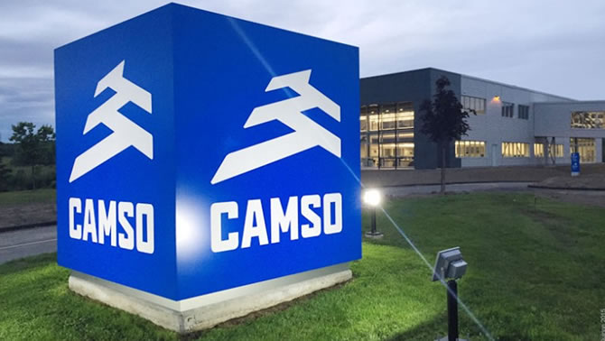 Picture of Camso logo.