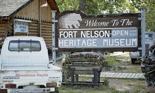 Fort Nelson Heritage Museum.