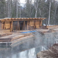 Liard River Hot Springs.