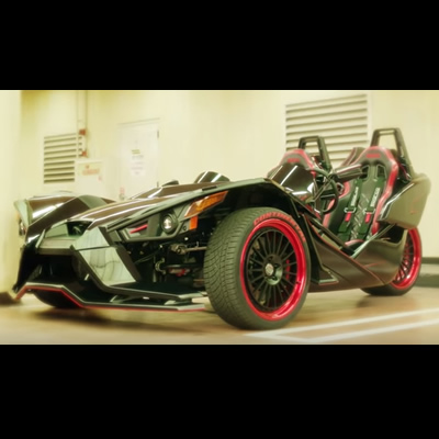 Picture of the Polaris Slingshot vehicle.