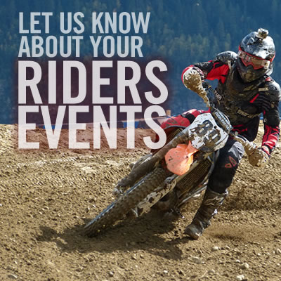 Submit motocross events