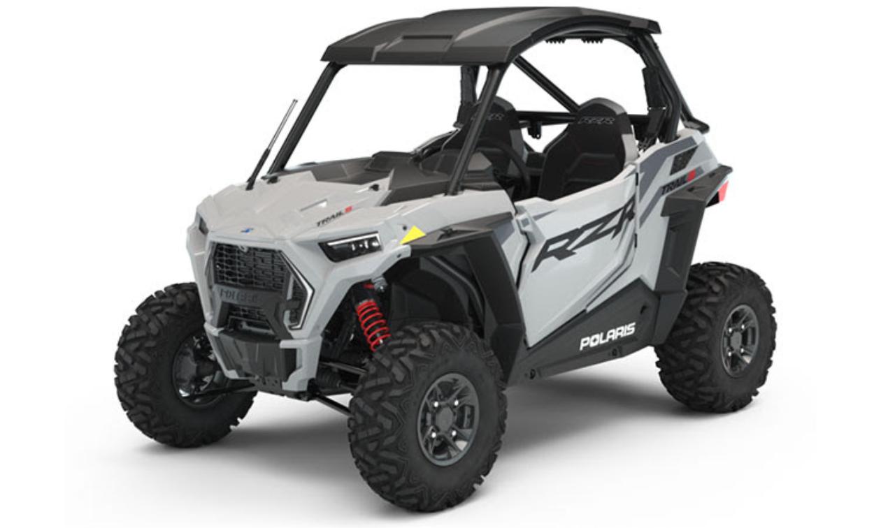 Grey Polaris RZR Trail S 1000 Ultimate