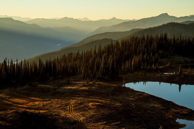 Silvercup Ridge, Trout Lake, B.C.