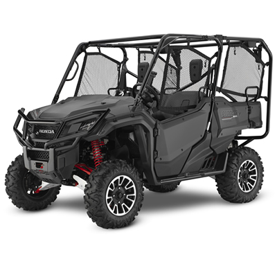 2018 Honda Pioneer five seater in grey.