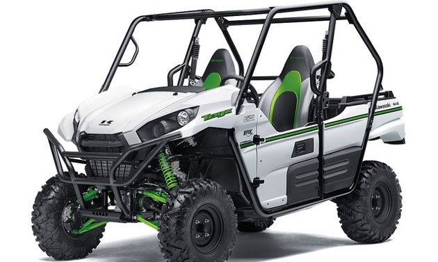 the kawasaki teryx sideside is powerful and ready to perform