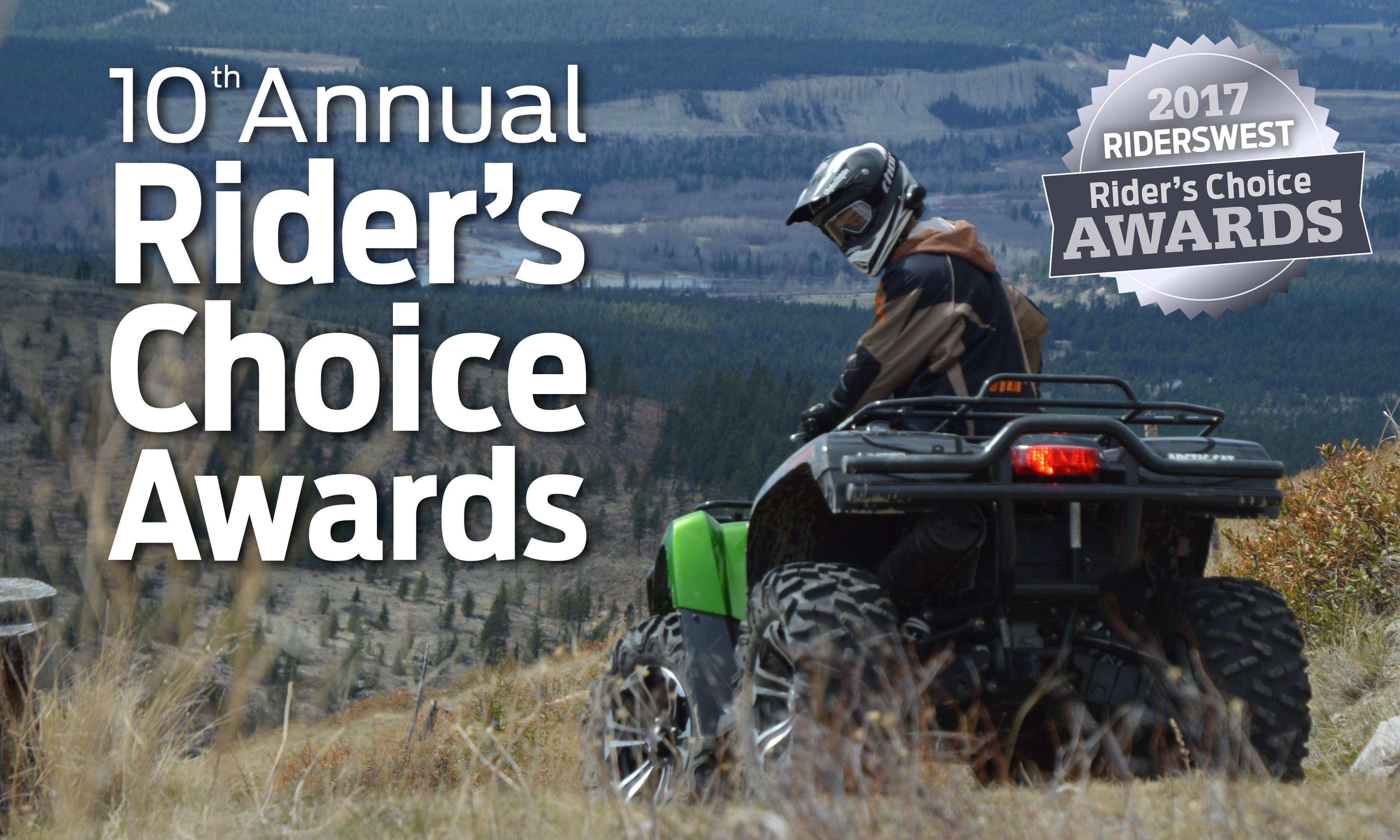 2017 Rider's Choice Awards