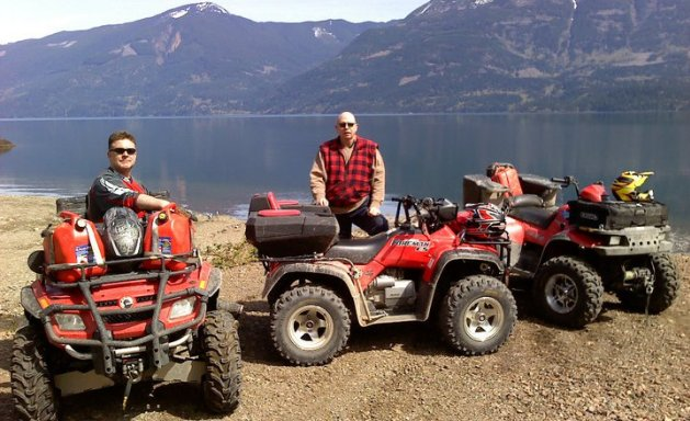 ATVing in Canada