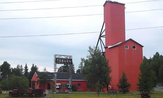 Historic Toburn Gold Mine property.
