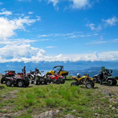 The Bear Creek Recreation Site has trails for motorcyclists, ATVers and side-by-side riders.