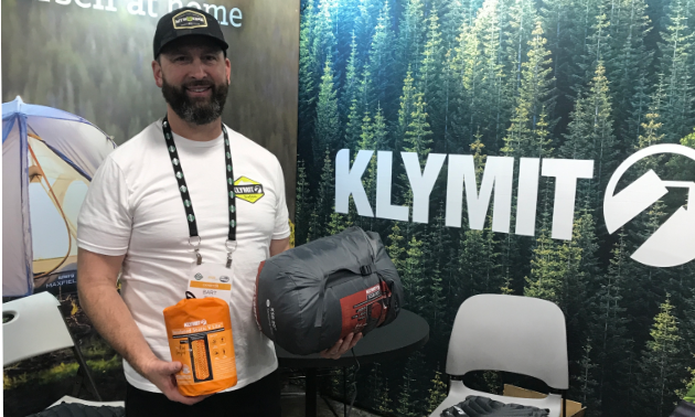 Klymit makes a sleeping bag rated to -20 C and an R4.4 inflatable mattress that is perfect for backcountry winter camping.