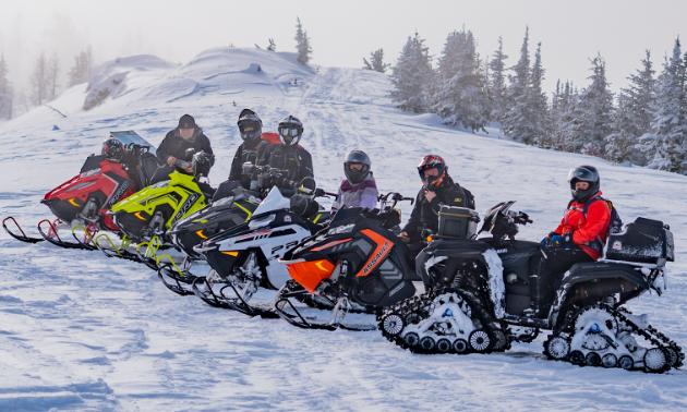 ATV or snowmobile? Which do you prefer?