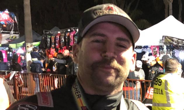 Al McBeth has a cowboy mustache