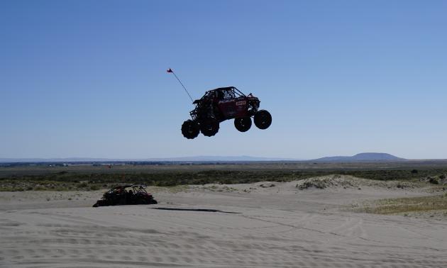 UTV superstar Al McBeth knows how to hop, skip and jump his