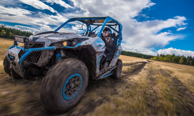 Laura Rasmussen spent part of her summer exploring the Cariboo Chilcotin region of B.C. on her Can-Am Maverick 1000.