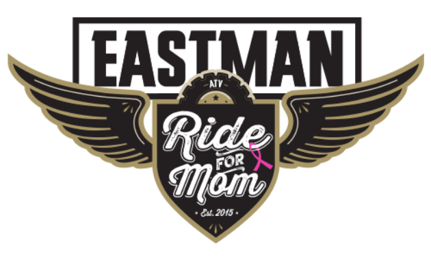 The Eastman ATV Associaion's logo paired with the Ride For Mom logo.