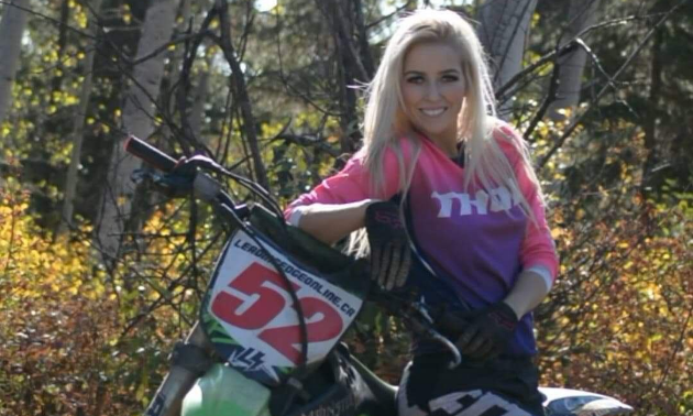 """Hannah Dehoog started an Instagram account, @loggergirl_hanimal, two years ago. """"I started my own hashtags like #loggergirl,"""" Dehoog said. """"I figure I might as well find ways to boost women in logging because I don't think it should be so uncommon."""""""