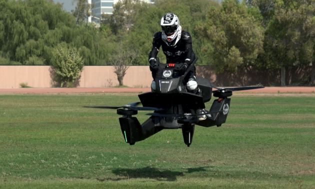 The Dubai Police are already training their officers to use hoverbikes.