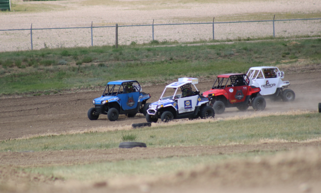 Side-by-side racing is one of the additions that has been integrated into the ATV Triple Crown Race Series.