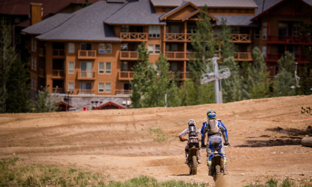The Panorama Hare Scramble takes place at the Panorama Mountain Resort.