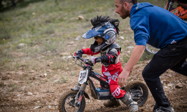 Riders of almost any age can take part in the Panorama Hare Scramble.