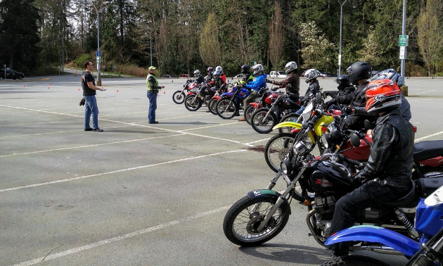 New riders benefit from participating in training programs such as the one offered by ProRide Motorcycle Training in Vancouver.