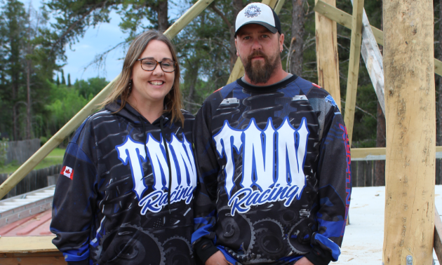 Justin Critch and Aynsley Wendt are the husband-and-wife team that leads TNN Racing.