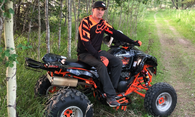 Jason Jahner is the owner/operator of Tail Creek Raceway in Alix, Alberta.