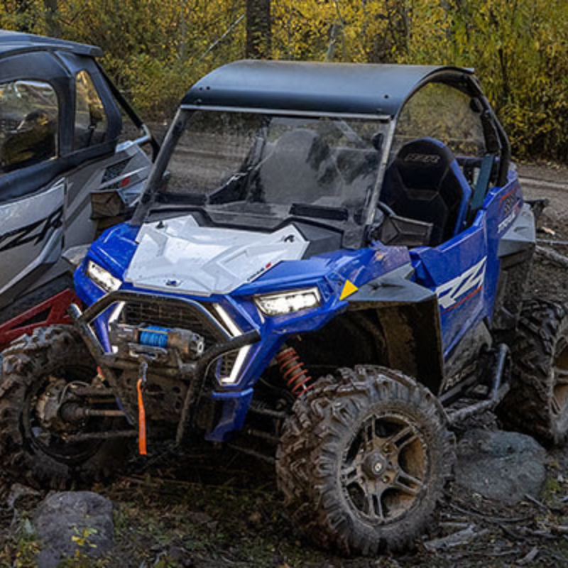 Blue Polaris RZR Trail S