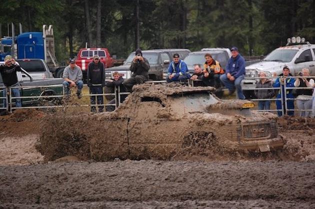 Plamondon Mud Bog Canadian style   RidersWest