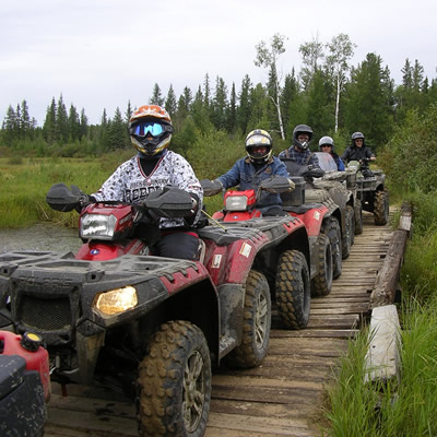 Group of ATV riders.