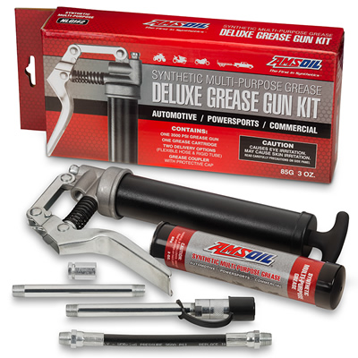 Picture of Amsoil grease gun kit.