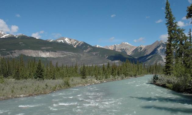 Bighorn Country in Alberta.