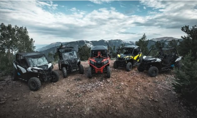 2018 Can-Am Maverick Trail models are the first trail-specific Can-Am side-by-side vehicles.