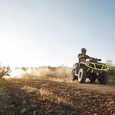 The complete lineup of 2019 Can-Am ATVs and side-by-side vehicles offers an incredible off-road experience for riders everywhere.