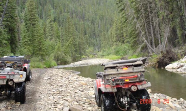 ATV in Alberta