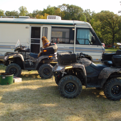 Duncan and his wife love to spend long weekends camping in Manitoba's backcountry.