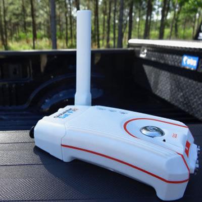 Sat-Fi2, a lightweight and portable hotspot.
