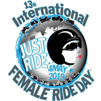International Female Ride Day logo.