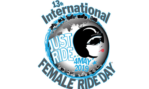 International Female Ride Day logo.