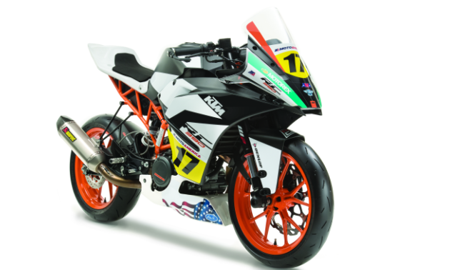 The 2017 KTM RC Cup Racebike