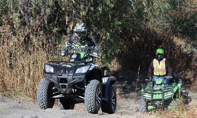 Woodridge ATV Sandhogs President Gary Hora spent some of the season teaching his 15-year-old daughter proper hill climbing techniques as part of the club's commitment to safe and responsible riding.