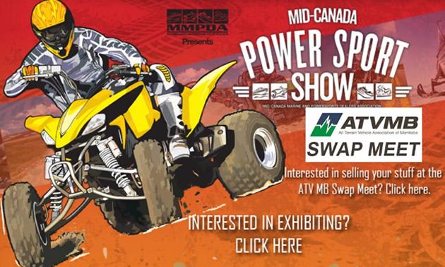 Manitoba Power Sports Show logo