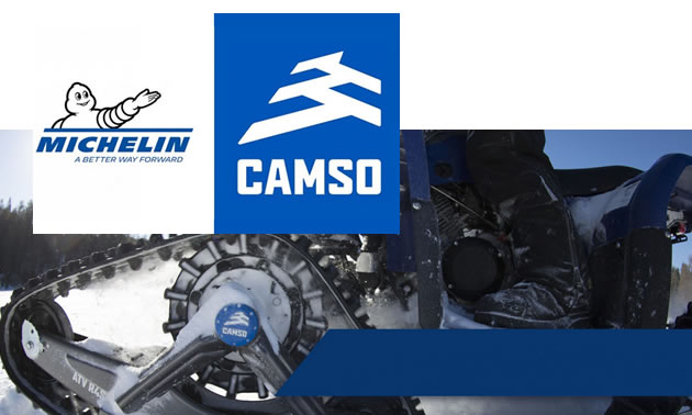 Michelin and Camso logos.