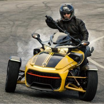 NASCAR-inspired 2017 Can-Am Spyder F3-S vehicle.