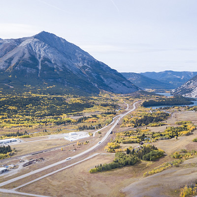 Looking south from the Nature Conservancy of Canada's Kerr property in the Crowsnest Pass.