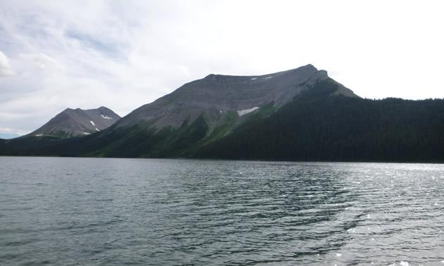The view at Onion Lake.