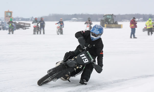 Brian's two ice bikes are racing in almost every category this winter.