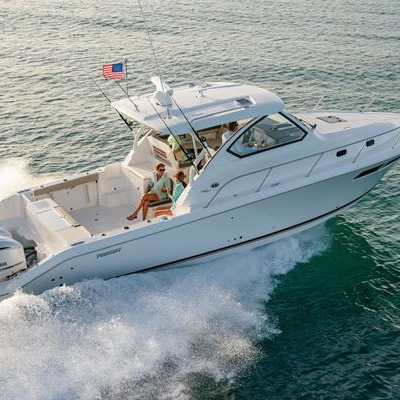 The Pursuit Offshore 355.