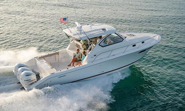 The Pursuit Offshore 355.
