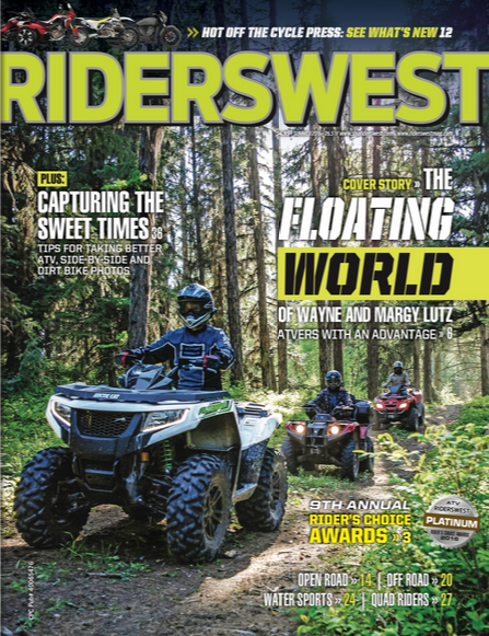 Cover of RidersWest